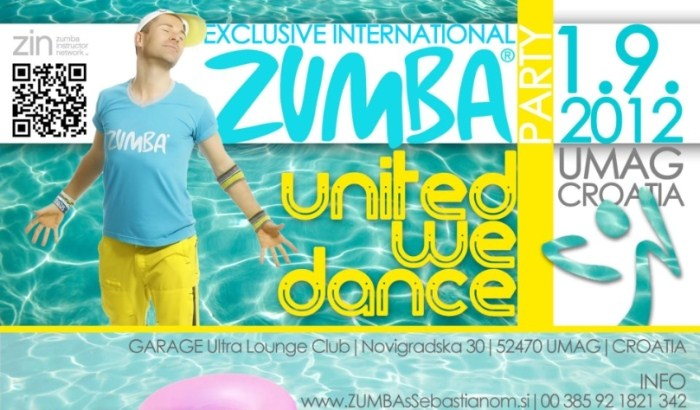 United we dance zumba fitness party in umag
