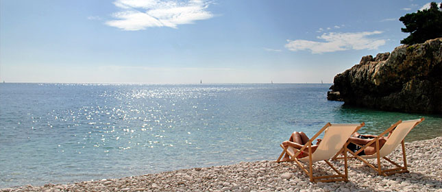 Beaches in Istria