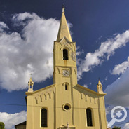 Church of St. Zenon, the protector of Brtonigla, was built in 1862. and it is located in the very center of Brtonigla.